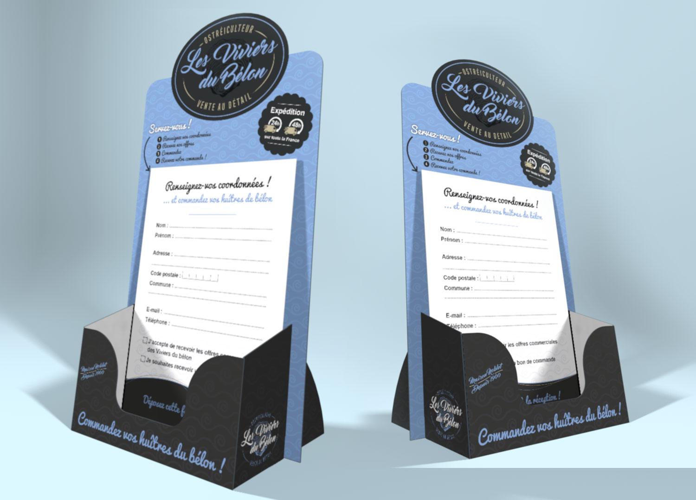 Création packaging PLV - Lorient - Quimper