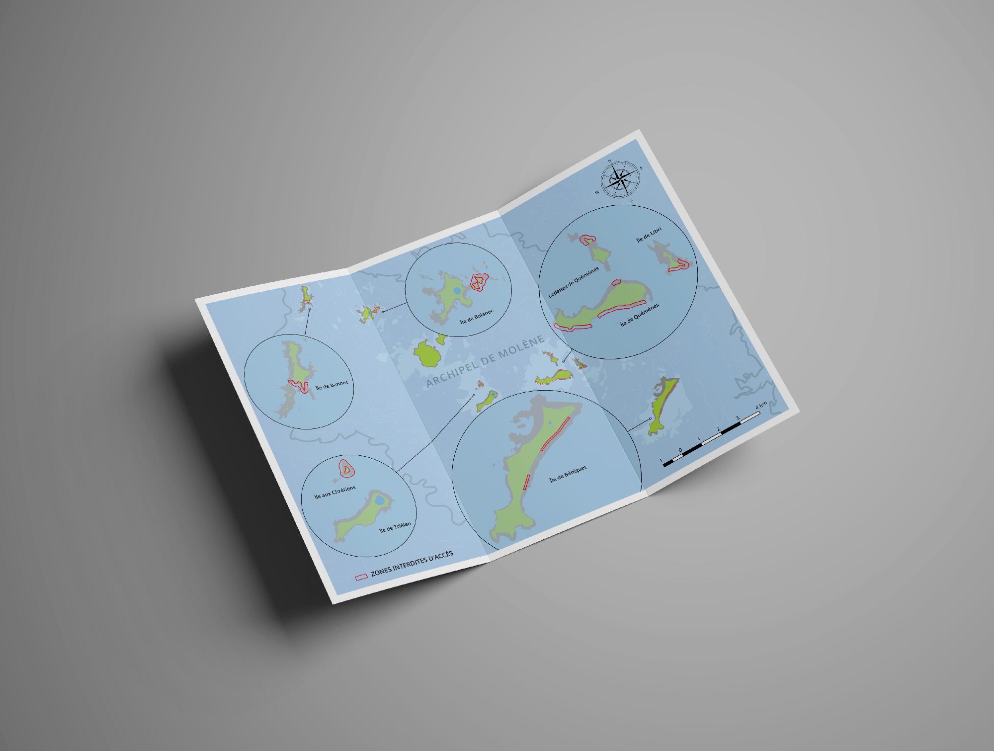 Dépliant Parc Naturel Maritime D'iroise - Graphiste ecorespoandable Com un poisson - comunpoisson.co
