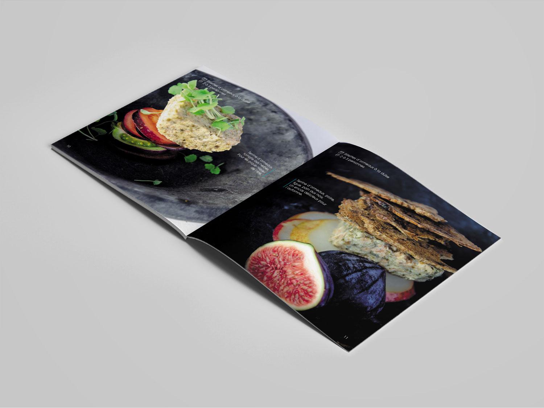 Dépliant France Haliotis - Ormeaux biologique - Graphiste freelance Bretagne - Photographie culinaire - philippe Emmanuelli - Com un poisson