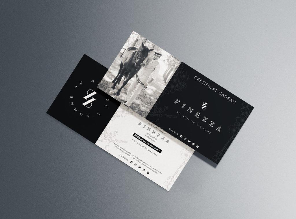 Finezza - Com un poisson - Graphic design
