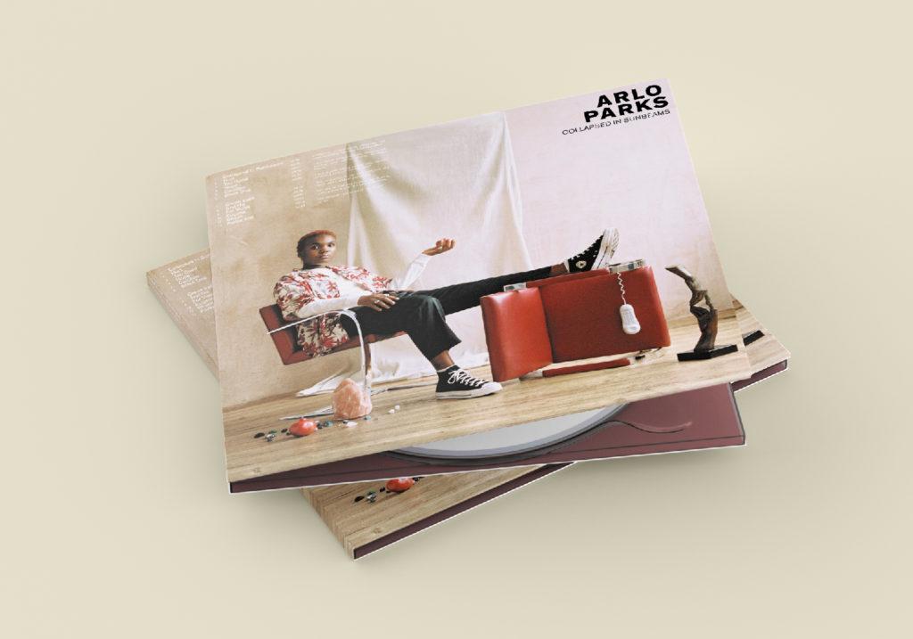 Arlo Parks - CD Promo - Com un poisson Design graphique
